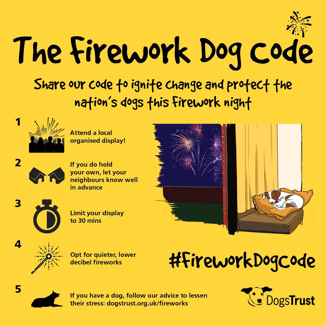 The Firework Dog Code